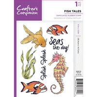 Crafter's Companion - Clear Acrylic Stamps - Fish Tales