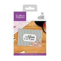Crafter's Companion - Clear Acrylic Stamps - Too Glam
