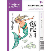 Crafter's Companion - Clear Acrylic Stamps - Mermaid Dreams