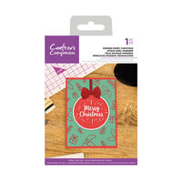 Crafter's Companion - Clear Acrylic Stamps - Modern Merry Christmas