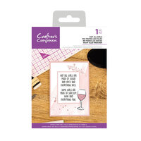 Crafter's Companion - Clear Acrylic Stamps - Not All Girls