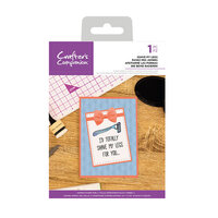 Crafter's Companion - Clear Acrylic Stamps - Shave My Legs