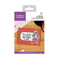 Crafter's Companion - Christmas - Clear Acrylic Stamps - Sorry Santa