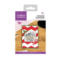 Crafter's Companion - Christmas - Clear Acrylic Stamps - Sweet But Twisted
