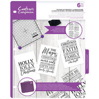 Crafter's Companion - Clear Acrylic Stamps - The Magic of Christmas