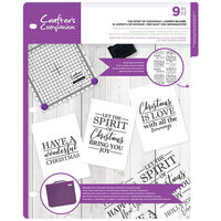Crafter's Companion - Clear Acrylic Stamps - The Spirit of Christmas