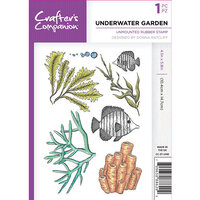 Crafter's Companion - Clear Acrylic Stamps - Underwater Garden