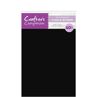 Crafter's Companion - Craft Material Pack - Chalk Board with Adhesive