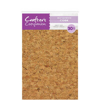 Crafter's Companion - Craft Material Pack - Cork with Adhesive