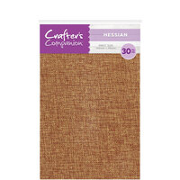 Crafter's Companion - Craft Material Pack - Hessian and Burlap