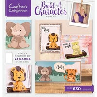 Crafter's Companion - Craft Box 21 - Build a Character Craft Kit