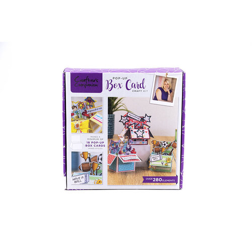 Crafter's Companion - Craft Box 24 - Pop Up Box Kit