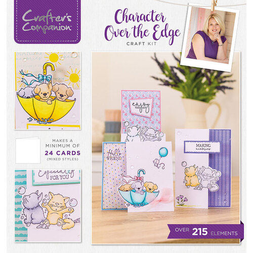 Crafter's Companion - Craft Box 28 - Character Over the Edge