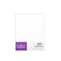 Crafter's Companion - Mount Board - 5.75 x 7.75 - White