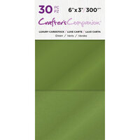 Crafter's Companion - Luxury Cardstock Pack - 30 Sheets - Greens