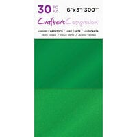 Crafter's Companion - Luxury Cardstock Pack - 30 Sheets - Holly Greens