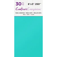 Crafter's Companion - Pearl Cardstock Pack - 30 Sheets - Blue