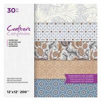 Crafter's Companion - 12 x 12 Paper Pad - Decadent Decor