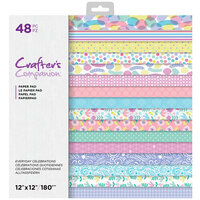 Crafter's Companion - 12 x 12 Paper Pad - Everyday Celebrations