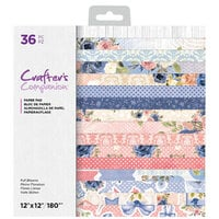 Crafter's Companion - 12 x 12 Paper Pad - Full Blooms