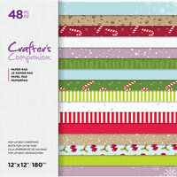 Crafter's Companion - 12 x 12 Paper Pad - Pop-Up Box Christmas
