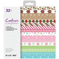 Crafter's Companion - 12 x 12 Paper Pad - Santa's Kitchen