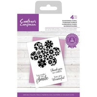 Crafter's Companion - Clear Photopolymer Stamps - Blossoming Floral
