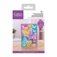 Crafter's Companion - Clear Photopolymer Stamps - Delightful Butterflies