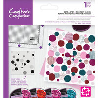Crafter's Companion - Clear Photopolymer Stamp - Dots and Spots