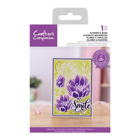 Crafter's Companion - Clear Photopolymer Stamps - Flowers and Buds