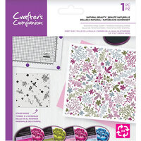 Crafter's Companion - Clear Photopolymer Stamp - Natural Beauty