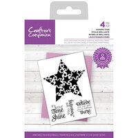 Crafter's Companion - Clear Photopolymer Stamps - Shining Star