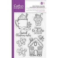 Crafter's Companion - Clear Photopolymer Stamps - Sweet Christmas