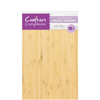 Crafter's Companion - Craft Material Pack - Wood Veneer with Adhesive
