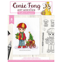 Crafter's Companion - Clear Photopolymer Stamps - Benny's Christmas