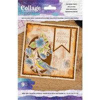 Crafter's Companion - Clear Photopolymer Stamp - Feathered Friend