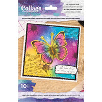 Crafter's Companion - Clear Photopolymer Stamp - Let Your Spirit Soar