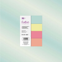Crafter's Companion - 12 x 12 Pearlescent Card Pack - Summer Sorbet