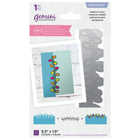 Crafter's Companion - Christmas - Gemini - Die - Edgeables - String of Lights