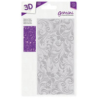 Crafter's Companion - 3D Embossing Folder - Regency Floral