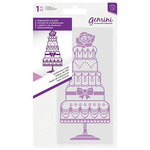 Crafter's Companion - Mini Embossing Folder - Celebration Cake