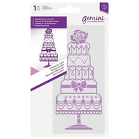 Crafter's Companion - Mini Embossing Folder - Celebration Cake