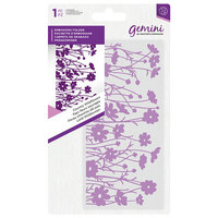 Crafter's Companion - Mini Embossing Folder - Country Wildflowers