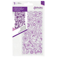 Crafter's Companion - Mini Embossing Folder - Floral Butterflies