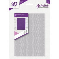 Crafter's Companion - 3D Embossing Folder - Cable Knit