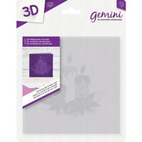 Crafter's Companion - 3D Embossing Folder - Christmas By Candle Light