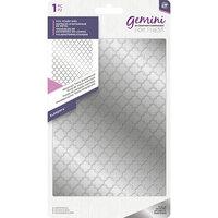 Crafter's Companion - Gemini - FoilPress - Foil Stamp Die - Background - Moroccan Trellis