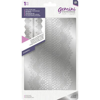 Crafter's Companion - Gemini - Foil Stamp Die - Background - Vintage Lace