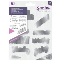 Crafter's Companion - Gemini - Foil Stamp Die - Popping Prosecco