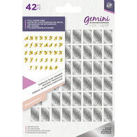 Crafter's Companion - Gemini - Foil Stamp Die - Monogram - Alphabet - Traditional Script